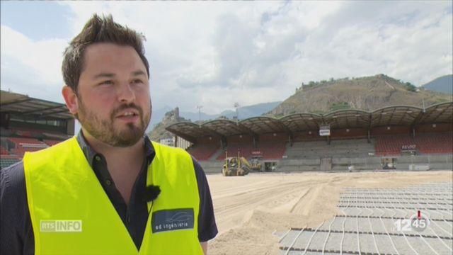 Le FC Sion privé de son stade de Tourbillon pour le début de la saison [RTS]