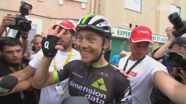 Tour de France, 19e étape: Edvald Boasson Hagen (NOR) remporte l'étape Embrun - Salon-de-Provence [RTS]