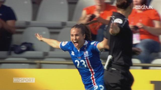 Groupe C, Islande – Suisse 1-0, 33e Fridriksdottir [RTS]