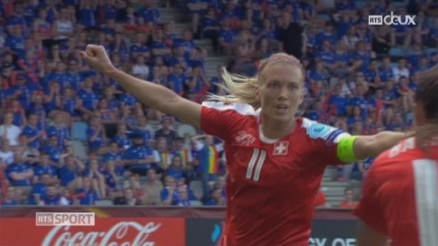 Groupe C, Islande – Suisse 1-1, 43e Dickenmann [RTS]