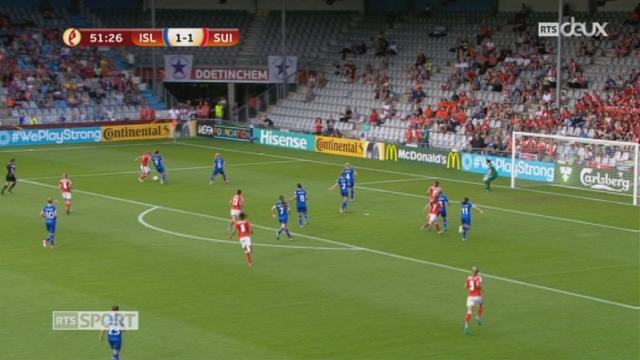 Groupe C, Islande – Suisse 1-2, 52e Bachmann [RTS]