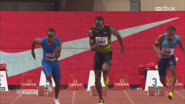 Athlétisme - Monaco: dernière sortie en meeting d'Usain Bolt [RTS]