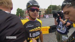 Tour de France, 21e étape: Groenewegen (NED) s'impose devant Greipel (GER) 2e et Boassen Hagen (NOR) 3e [RTS]