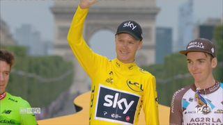 Tour de France: retour sur la victoire de Chris Froome [RTS]