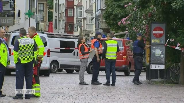 Opération policière à Schaffhouse, où il y aurait plusieurs blessés