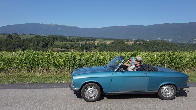 En balade à travers la Suisse romande. [Philippe Christin - RTS]