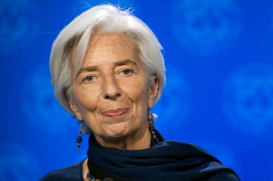 La directrice générale du Fonds monétaire international Christine Lagarde, photgraphiée en décembre 2016.