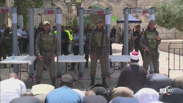 Jérusalem: le spectre d'une nouvelle intifada [RTS]