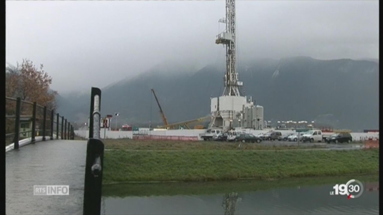 Vaud: les Verts veulent interdire les extractions gazières [RTS]
