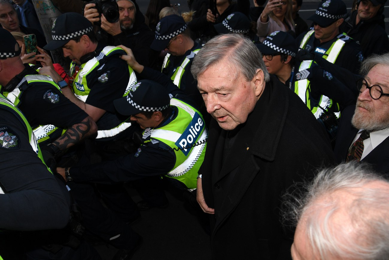 Le cardinal George Pell comparaît en Australie