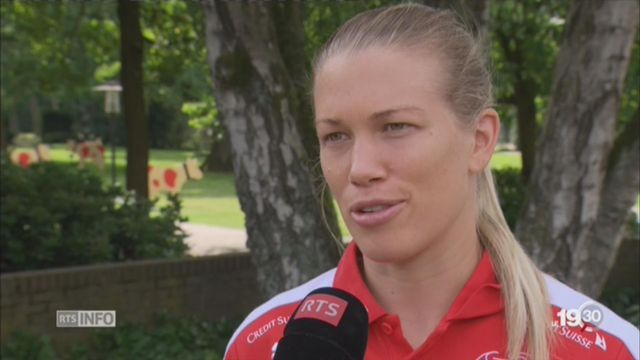 Football: portrait de Lara Dickenmann, patronne de la Nati [RTS]