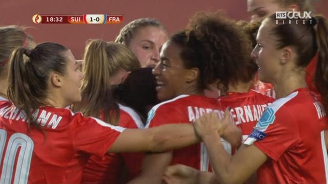 Groupe C, Suisse – France 1-0 : 18e Crnogorcevic [RTS]