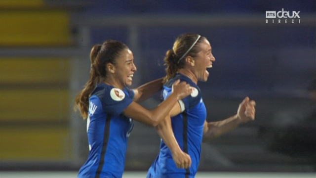 Groupe C, Suisse – France 1-1 : 76e Abily [RTS]
