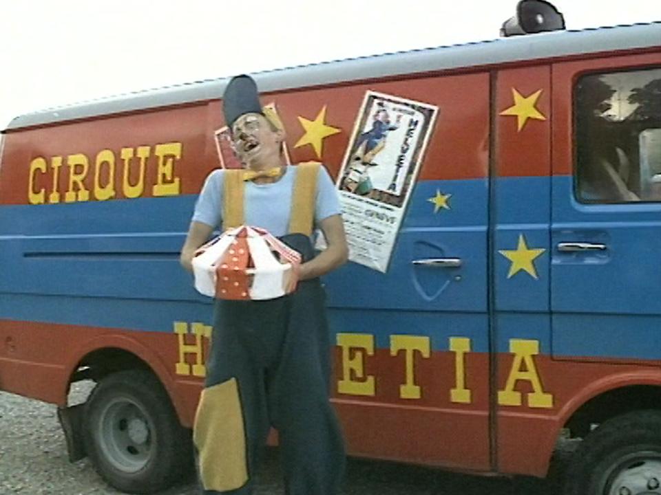 Cirque Helvetia en 1988. [RTS]