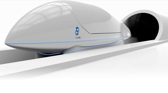 Le projet suisse mise sur une propulsion à air comprimé. [swissloop.ch]