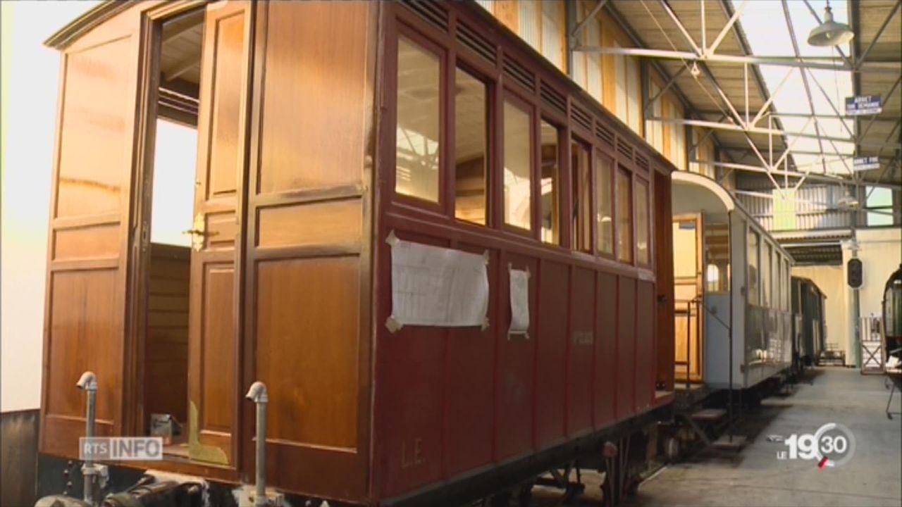 Trains historiques: un patrimoine en danger malgré les bénévoles [RTS]