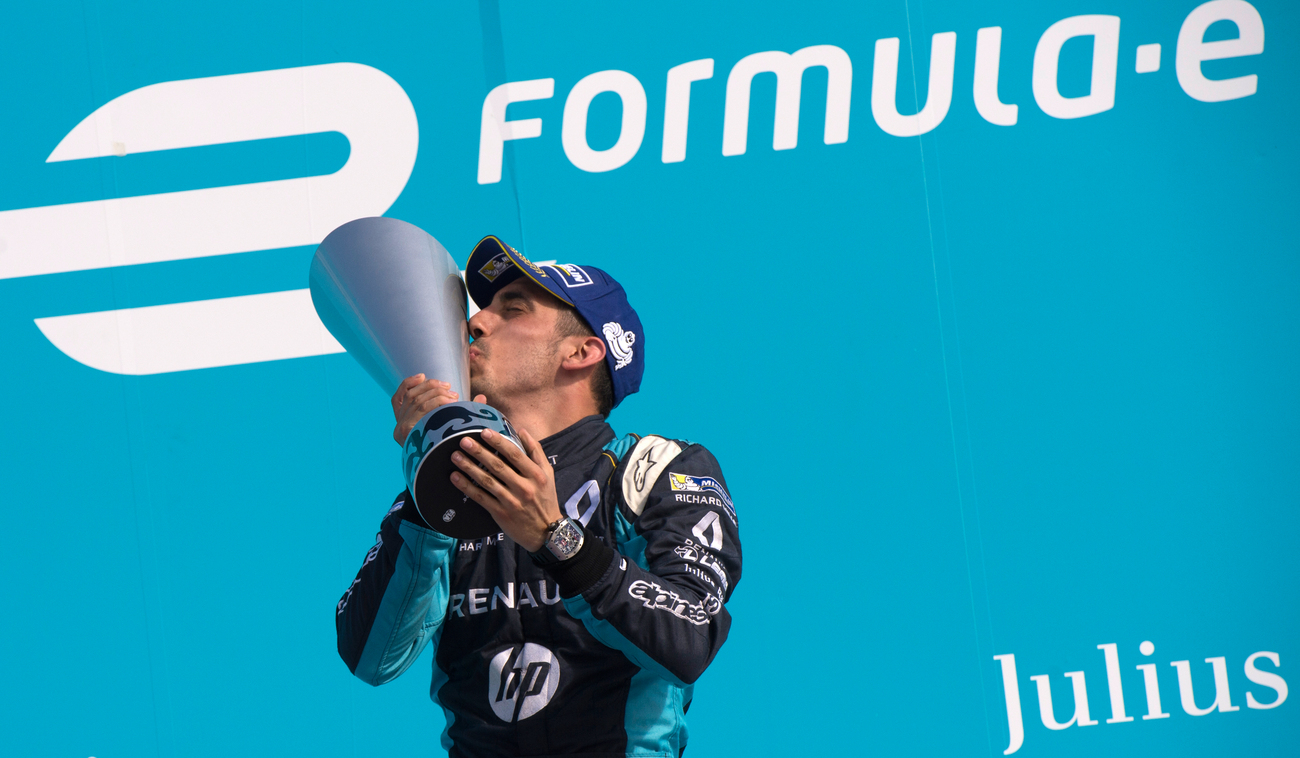 Sébastien Buemi voit sa première place au classement s'éloigner — Formule E