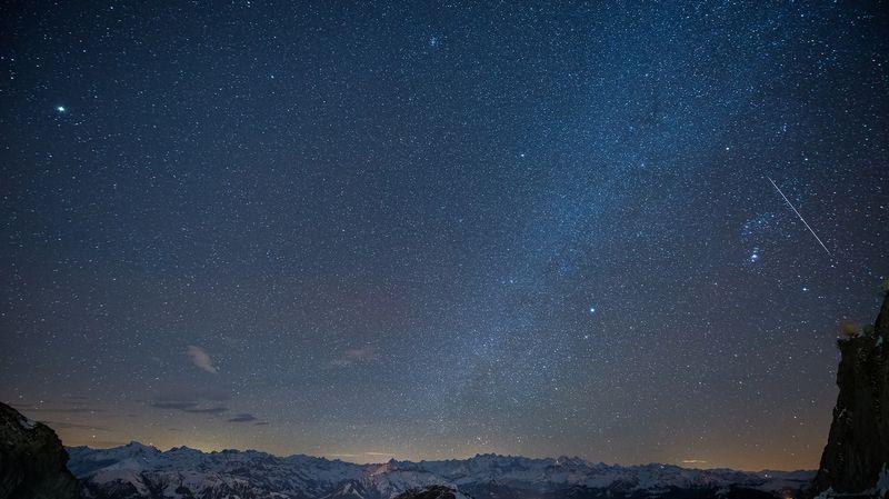 Où Profiter De La Nuit Des étoiles En Suisse Romande Rts