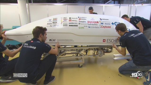 Des étudiants suisses sélectionnés pour bâtir le train du futur [RTS]