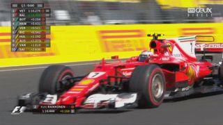 Qualifications: Vettel (GER) en pole position devant Raikkonen (FIN) et Bottas (FIN) [RTS]