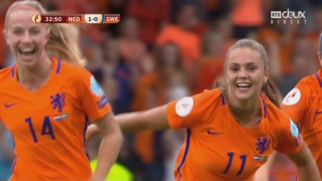 1-4, Pays-Bas - Suède 1-0: 33e Martens [RTS]