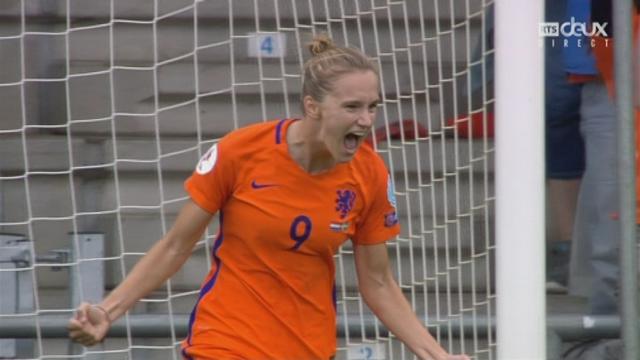 1-4, Pays-Bas - Suède 2-0: 63e Miediema [RTS]