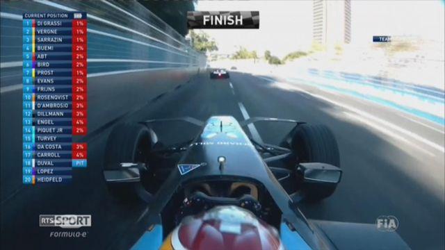Formule E: Buemi perd la tête du championnat [RTS]