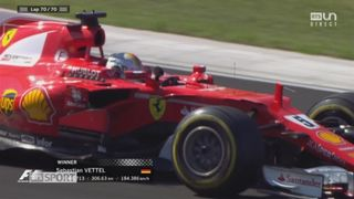 Course: Sebastian Vettel (GER) s'impose devant Kimi Raikkonen (FIN) et Valtteri Bottas (FIN) [RTS]