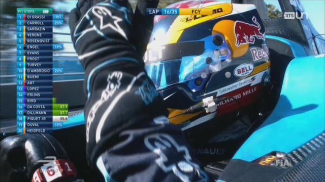 Formule E: la première manche canadienne de Sébastien Buemi tourne à la catastrophe [RTS]