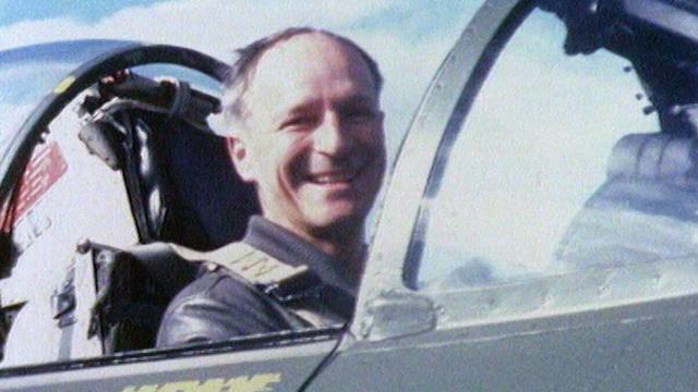 Claude Nicollier, pilote et astrophysicien. [RTS]