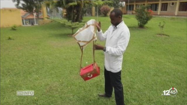 Rwanda: des drones servent à livrer des pochettes de sang [RTS]