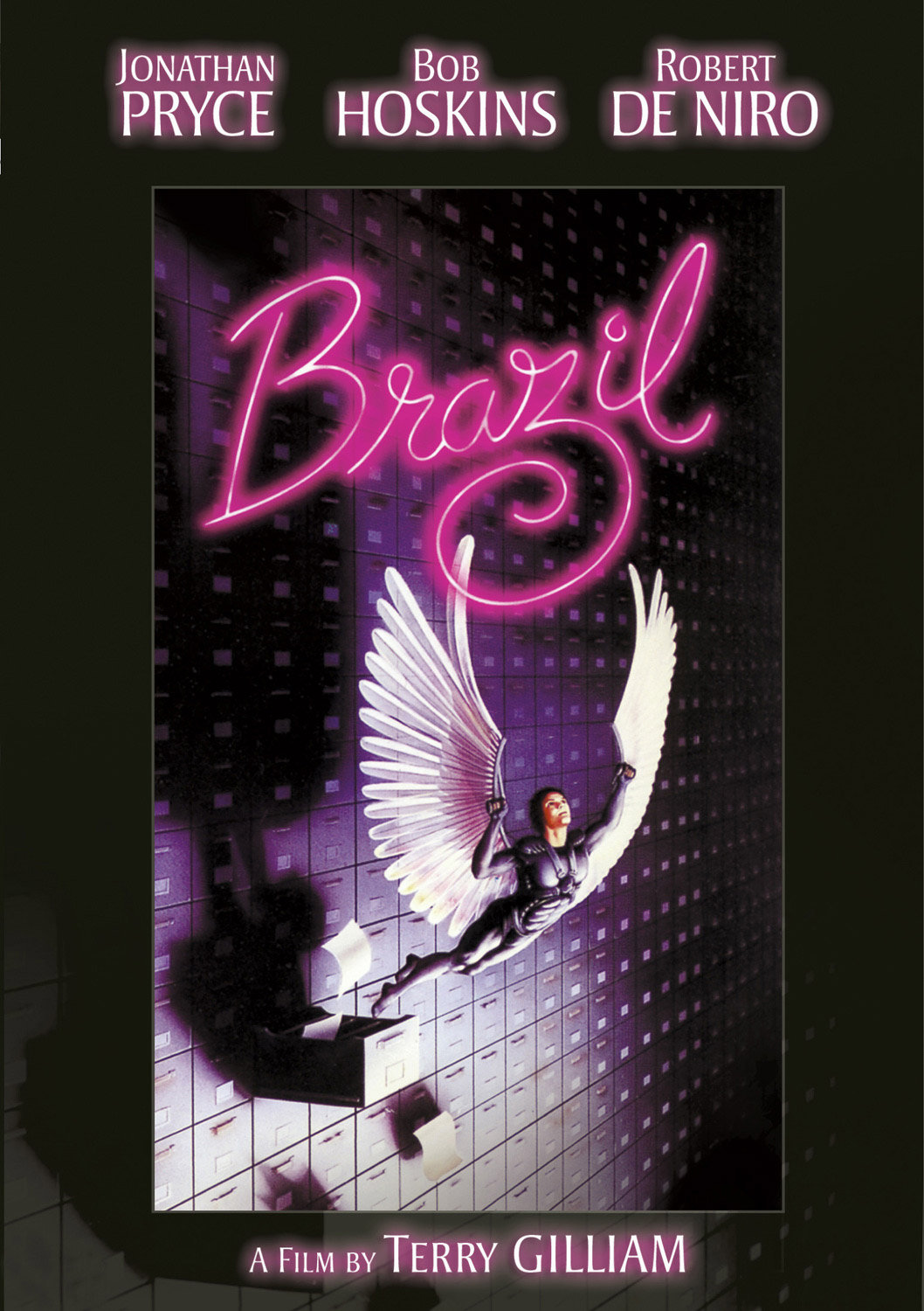 "L'affiche du film ""Brazil"" de Terry Gilliam."