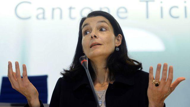 Laura Sadis, ancienne conseillère d'Etat tessinoise. [Carlo Reguzzi - Keystone]