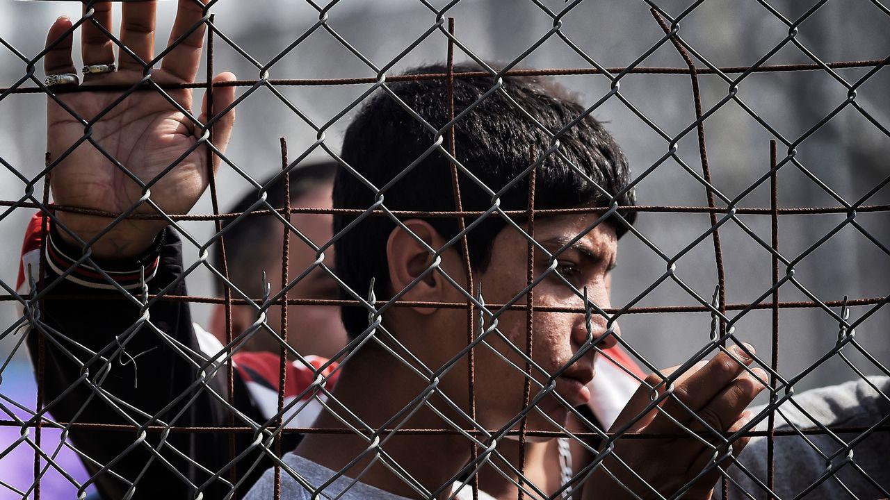 Les migrants mineurs non-accompagnés sont de plus en plus nombreux en Grèce. [Aris Messinis - AFP]