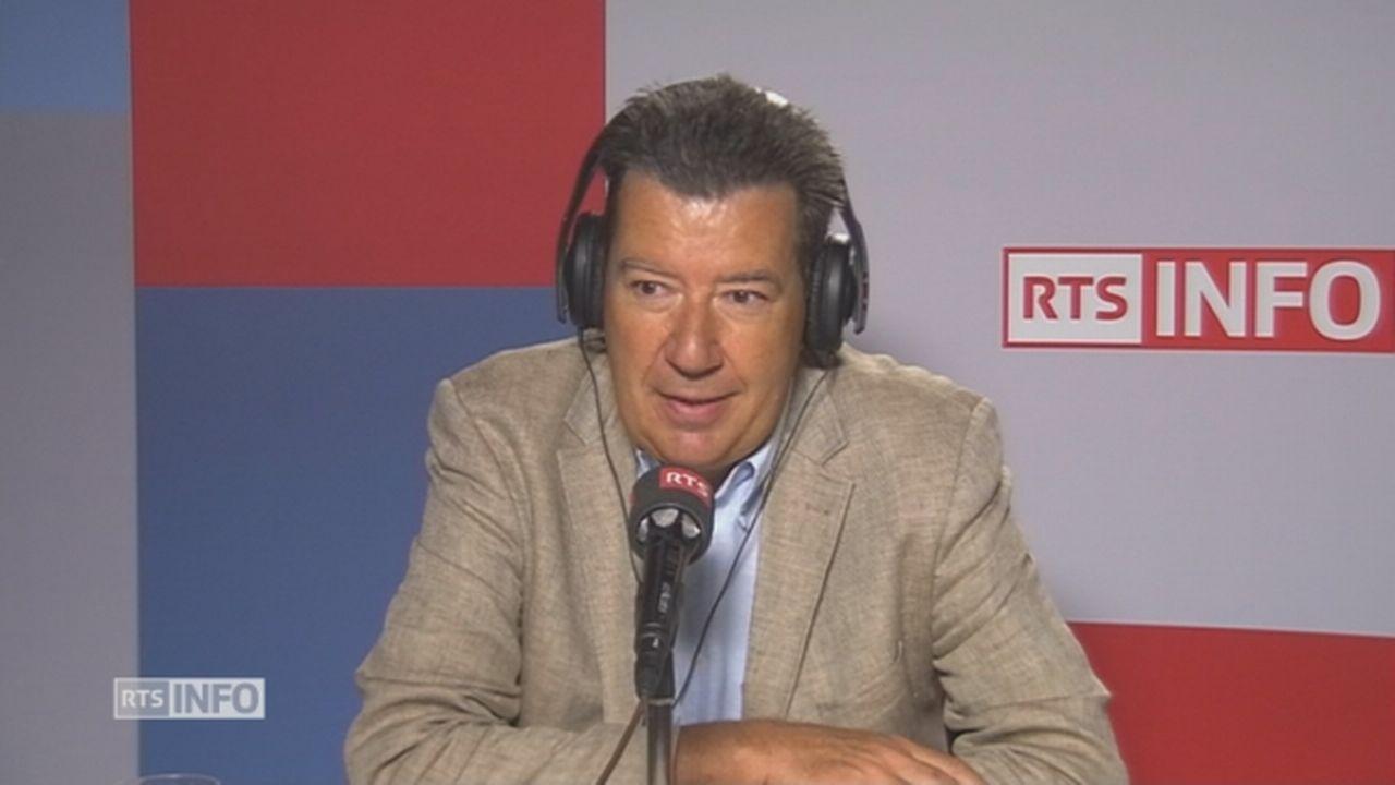 André Duvillard, délégué au Réseau national de sécurité [RTS]