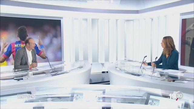 Transfert Neymar: les précisions de Pascal Thurnherr [RTS]