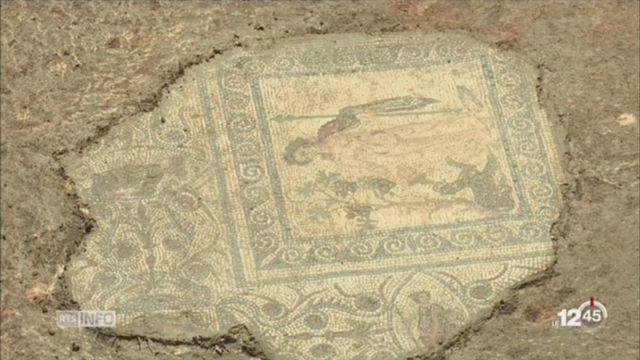 France: des ouvriers ont découvert par hasard un site archéologique exceptionnel à Vienne [RTS]