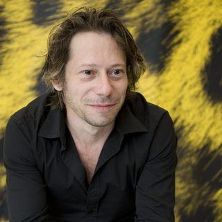 L'acteur français Mathieu Amalric à Locarno en 2009. [Martial Trezzini - Keystone]