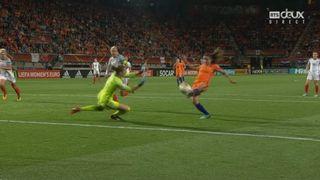 1-2, Pays-Bas - Angleterre 2-0: 62e Van de Donk [RTS]