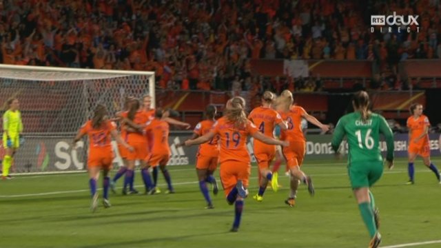1-2, Pays-Bas - Angleterre 3-0: 94e CSC Millie Bright [RTS]