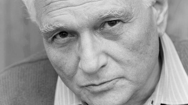 Jacques Derrida [DESPATIN & GOBELI / Opale / Leemage - AFP]
