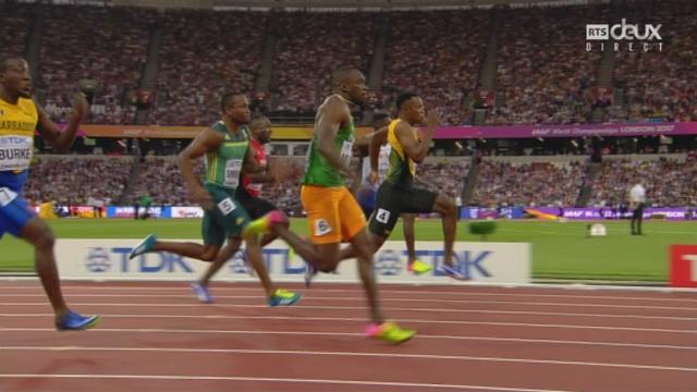 Série 100 m, messieurs: Alex Wilson (SUI) termine 5e et est éliminé [RTS]
