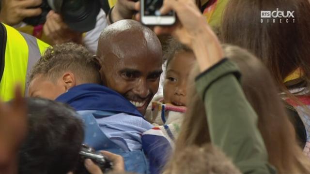 Mondiaux, 1000m: Mohamed Farah (GBR) remporte l'or! [RTS]