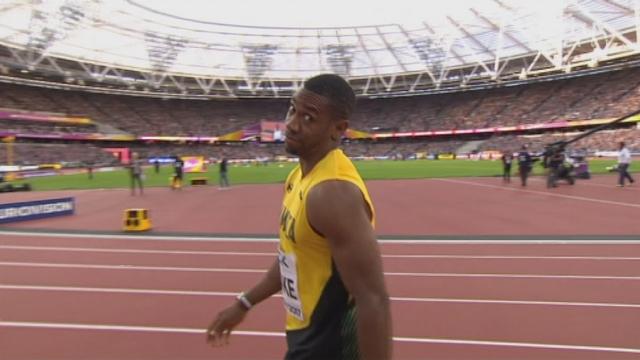 Mondiaux, 100m: Alex Wilson (SUI) termine dernier et est éliminé en demi-finale [RTS]