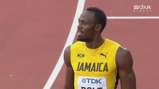 Mondiaux, 100m: Coleman (USA) s'impose devant Bolt (JAM) 2e et ils se qualifient en finale [RTS]