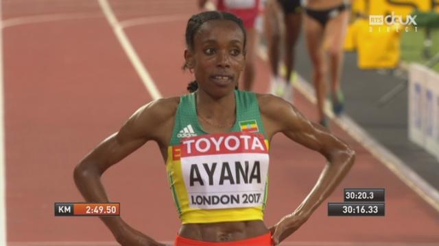 Mondiaux, 10'000m: Ayana (ETH) remporte le titre! [RTS]