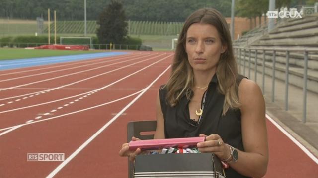 Athlétisme - Mondiaux Londres: Ellen Sprunger revient sur sa carrière [RTS]