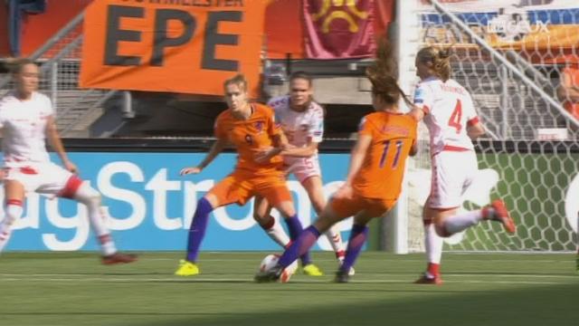 Finale, Pays-Bas - Danemark 2-1: 28e Lieke Mertens [RTS]