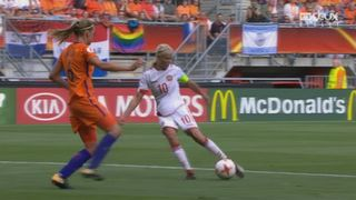 Finale, Pays-Bas - Danemark 2-2: 33e Pernille Harder [RTS]