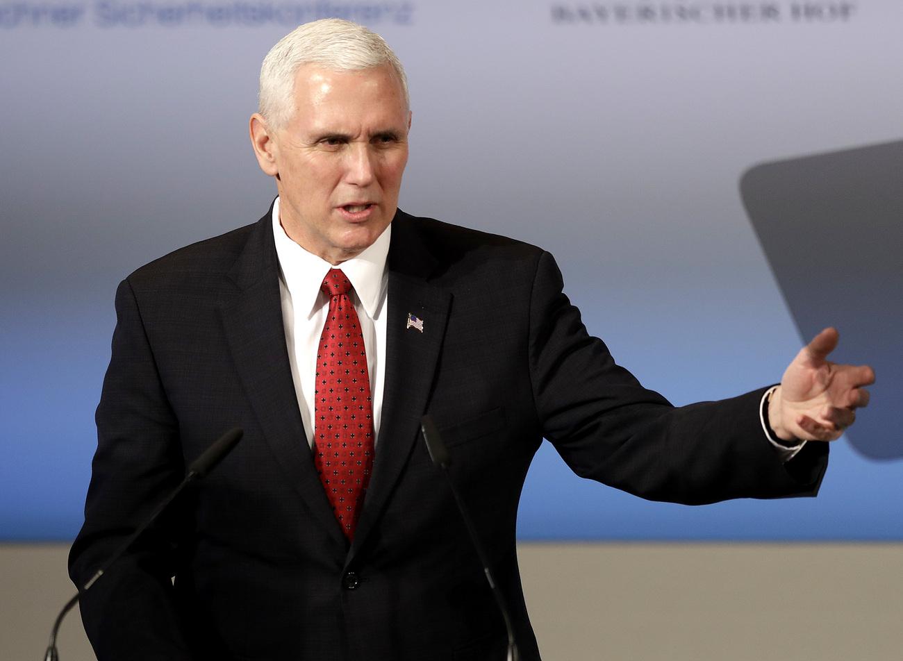 Mike Pence dément vouloir briguer la présidence américaine en 2020